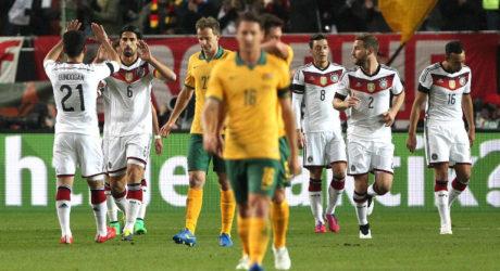 Länderspiel Australien – Deutschland heute Abend, Deutschland siegt 3:2
