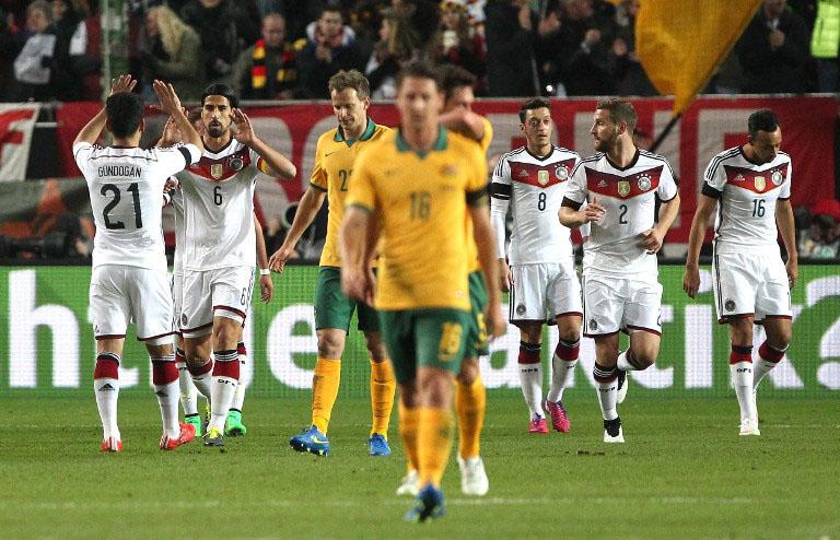 aufstellung deutschland australien