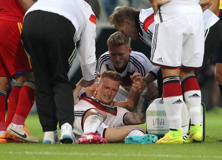 Marco Reuss Verletzung