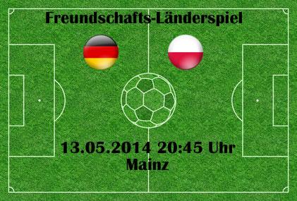 Benefizländerspiel gegen Polen in Mainz