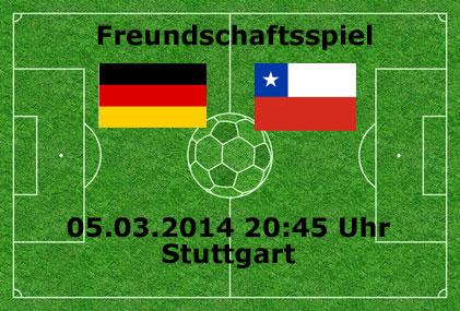 DFB Kader & Aufstellung Deutschland – Chile