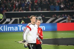 Andy Köpcke und Manuel Neuer