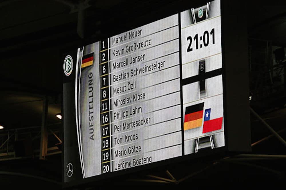 DFB-Kader WM 2014