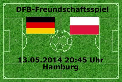 Fußball heute live: Deutschland – Polen-Länderspiel