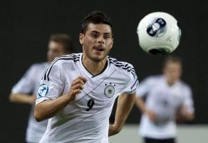 Kevin Volland, der erfolgreichste deutsche Stürmer im DFB-Team