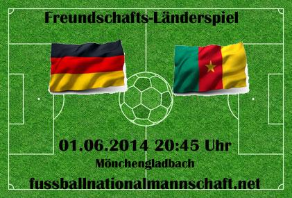 Fußball heute Vorschau: Deutschland gegen Kamerun