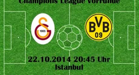 Champions League heute: BVB gegen Galatasaray ( ZDF Live )