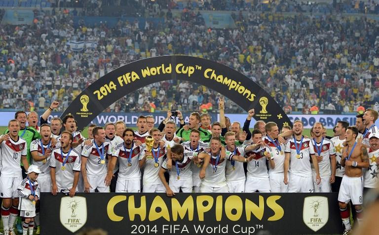 Weltmeister 2014 - wohl kaum ein Spieler wird auch 12 Jahre später bei der WM 2026 dabei sein. (Foto AFP)