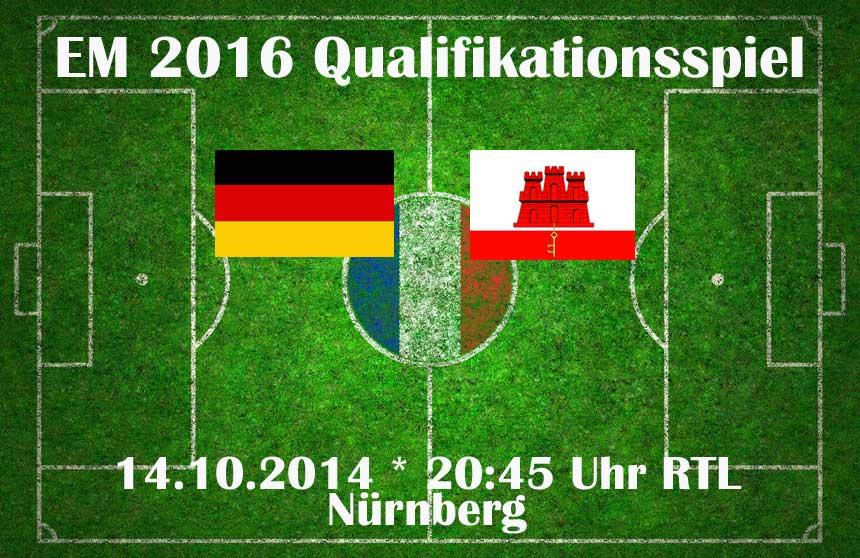 Deutschland Gegen Gibraltar Live