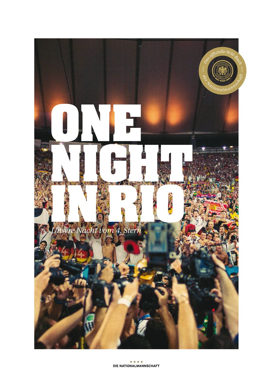 neues dfb wm buch one night in rio. Black Bedroom Furniture Sets. Home Design Ideas