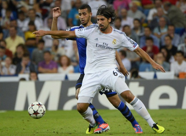 Verlässt Real Madrid nach 4 Jahren: Sami Khedira. Foto: AFP PHOTO / PIERRE-PHILIPPE MARCOU