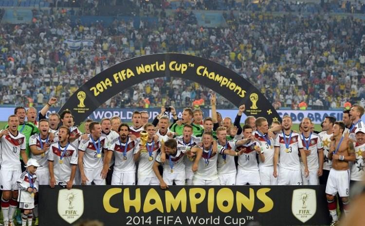 FIFA Weltrangliste Nummer 3: Deutschland (Foto AFP)