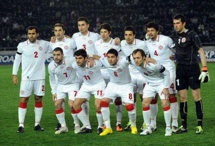 Georgische Fußballnationalmannschaft (Foto AFP)