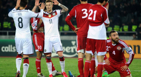 Georgien – Deutschland 0:2 – DFB-Team feiert Pflichtsieg
