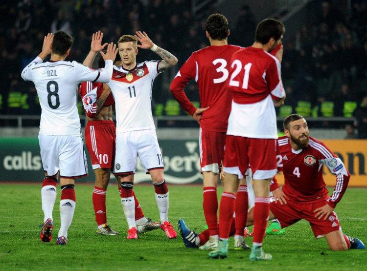 Deutschland - Georgien (Foto AFP)