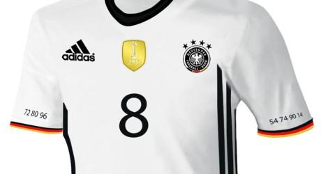 DFB-Trikot zur EM 2016 enthüllt * * Ganz in Weiß zum EM-Titel (Deutschlandtrikot 2016)