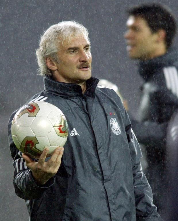 Bundestrainer Rudi Voller