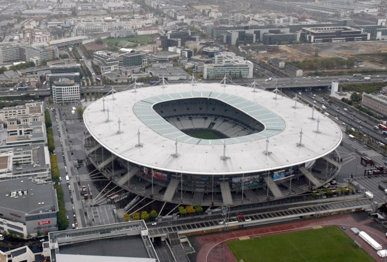 Stade de France in Saint-Denis, nahe Paris. AFP PHOTO JOEL SAGET