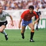 Andy Brehme bei der EM 1984 (Foto AFP)