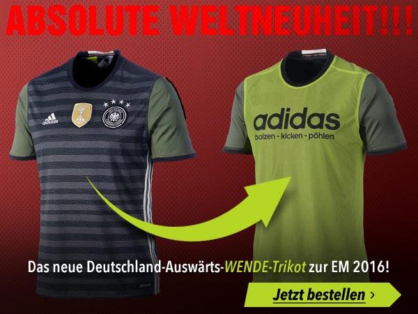 Das DFB Away Trikot von Deutschland 2016