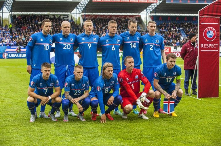 Island Fußballmannschaft