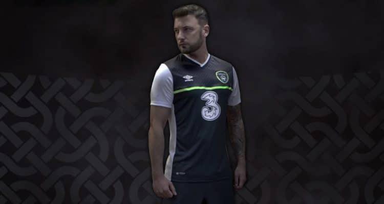 Ireland Auswärtstrikot bei der EM 2016