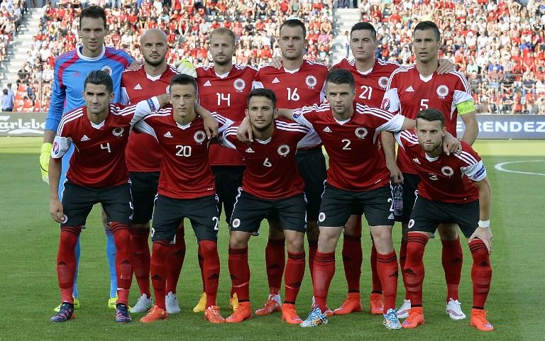 Albanien Fußball Nationalmannschaft
