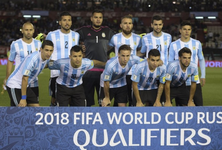 Argentinien in der der Qualifikation zum FIFA World Cup 2018 gegen Ecuador. AFP PHOTO / JUAN MABROMATA