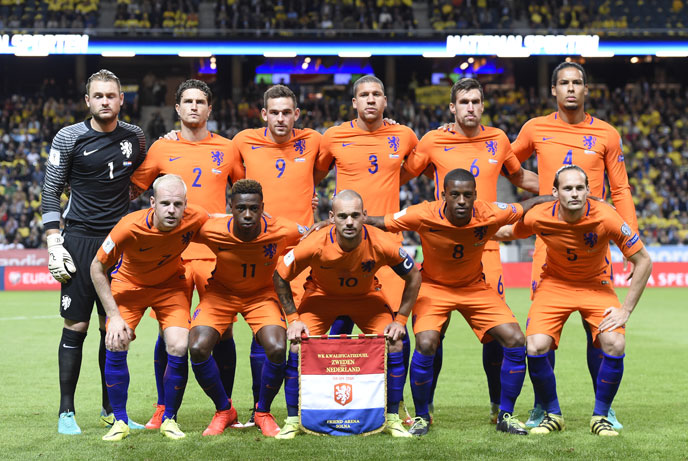 nationalmannschaft holland