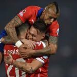 Arturo Vidal mit Chile bei der WM-Qualifikation