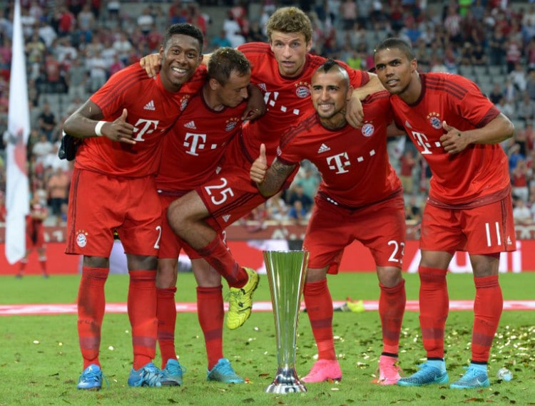 Bayern München - Rekordverein der Bundesliga! AFP PHOTO / CHRISTOF STACHE