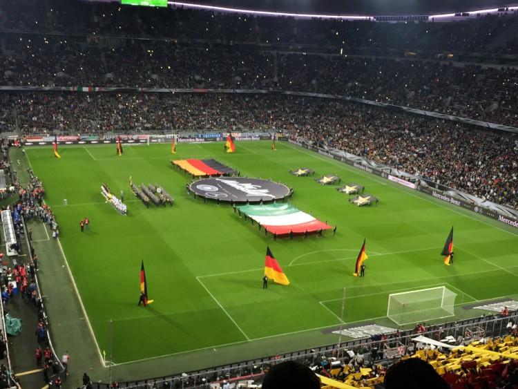 Länderspiel Deutschland gegen Italien