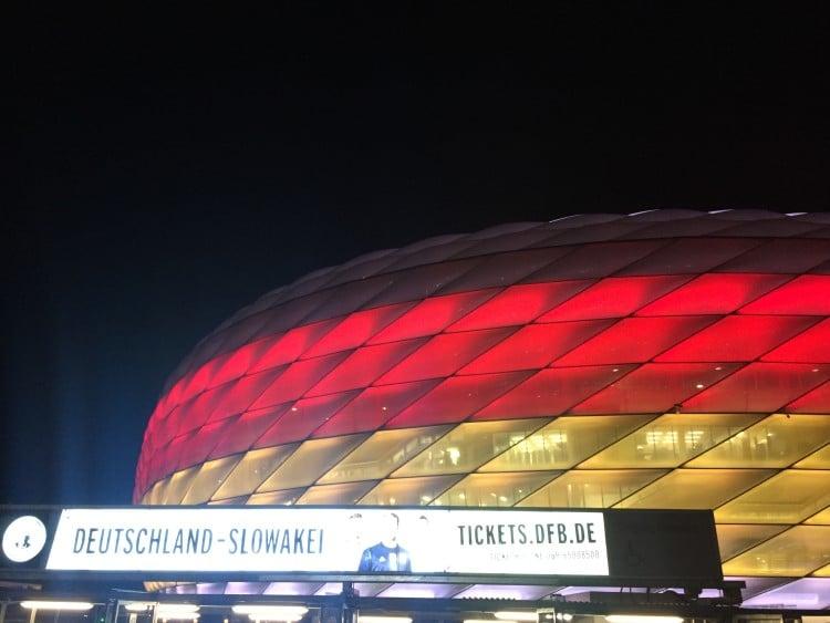 Allianz Arena von München!