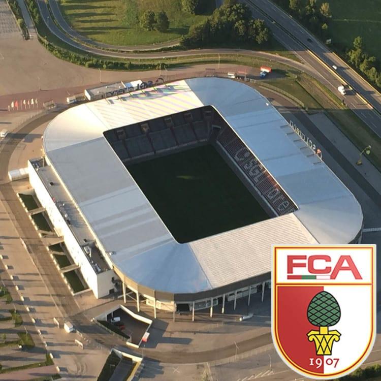 Die WWK Arena in Augsburg - einer der neuesten Arenen in Deutschland