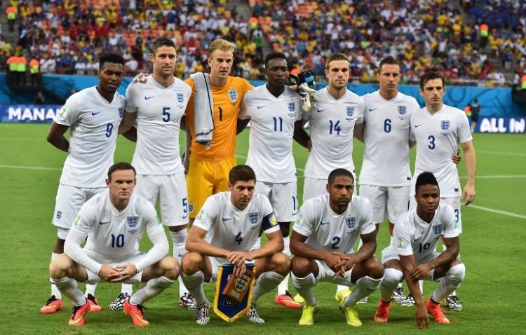 England bei der WM 2014. AFP PHOTO / BEN STANSALL