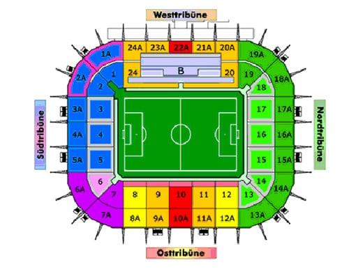 Stadion Im Borussia Park on Tribune Highlights