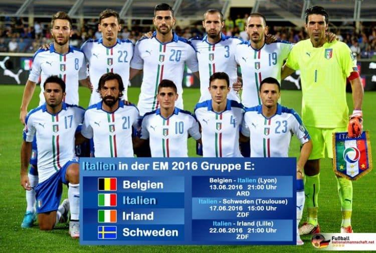 em 2017 deutschland italien aufstellung