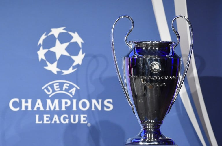 Der Pokal der Champions League