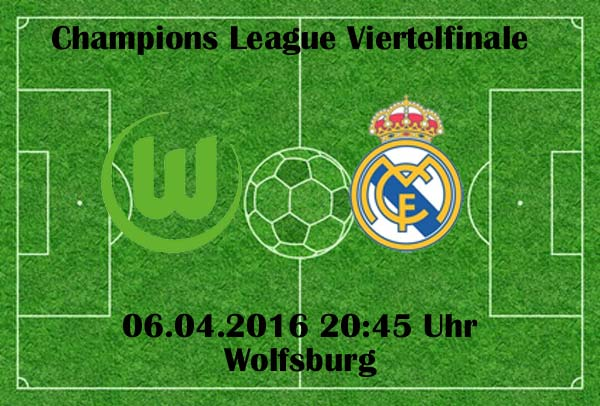 wolfsburg real madrid live stream