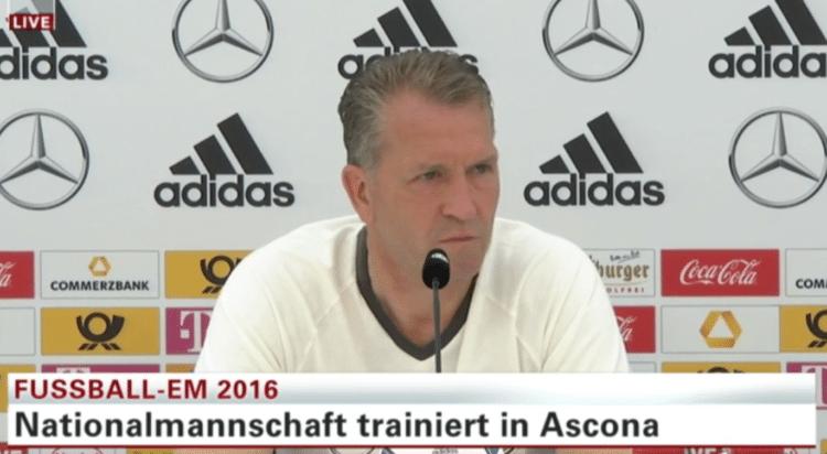 Fußball Nationalmannschaft: DFB Pressekonferenz heute live vom EM-Trainingslager