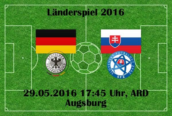 ARD Livestream heute *** Fußball Länderspiel Deutschland gegen die Slowakei
