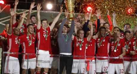 Fußball heute Ergebnisse DFB Pokal ** 2:1 FC Bayern gegen FC Augsburg in der ARD