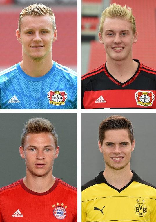 Im DFB-Kader: Leverkusenes Bernd Leno und Julian Brandt, München