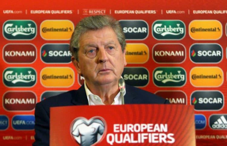 Roy Hodgson: Nationaltrainer von England. Heute steht er unter Druck, die Three Lions müssen gewinnen. AFP PHOTO / PETRAS MALUKAS