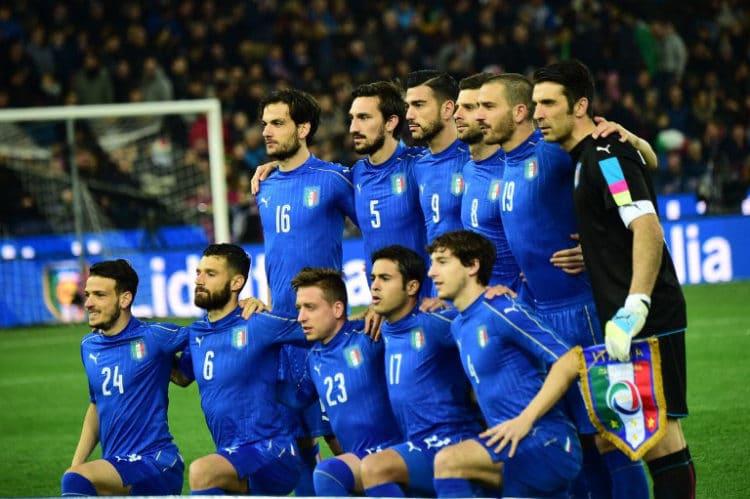 Italien Fussball Kader