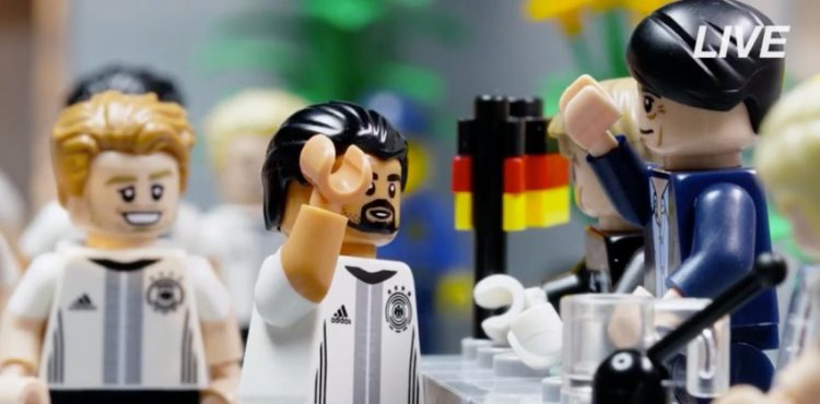 Fußball-Nationalelf gibt es jetzt auch als Lego-Figuren!