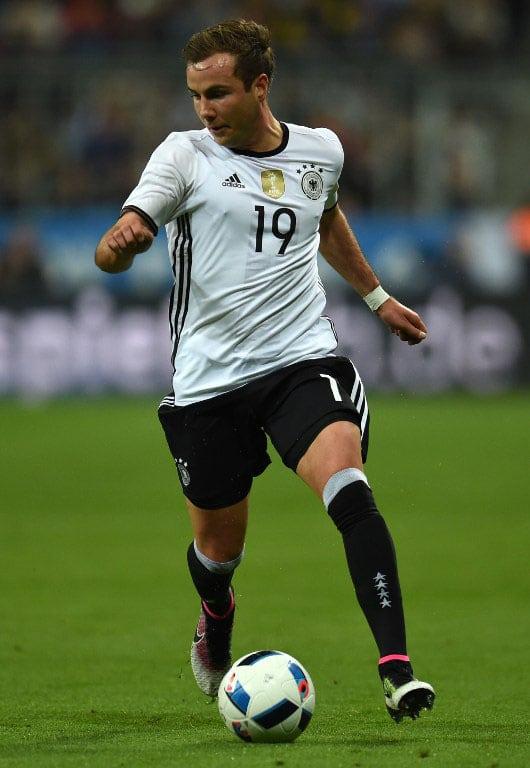 DFB-Spieler und WM-Held 2014 Mario Götze