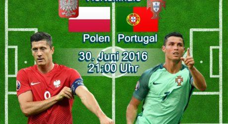 ARD Livestream jetzt * 5:4 Elfmeterschießen * Fußball EM Viertelfinale im TV *** Portugal gegen Polen heute ab 21 Uhr