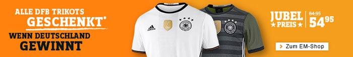 Das DFB Trikot 2016 geschenkt wenn Deutschland Europameister wird!