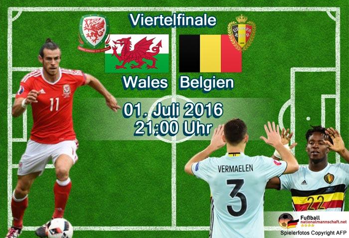 Belgien Wales Aufstellung
